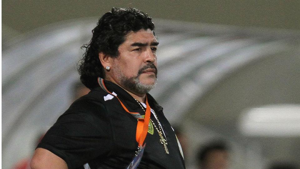 Diego Maradona yang mengalami obesitas usai dirinya pensiun dari dunia sepakbola